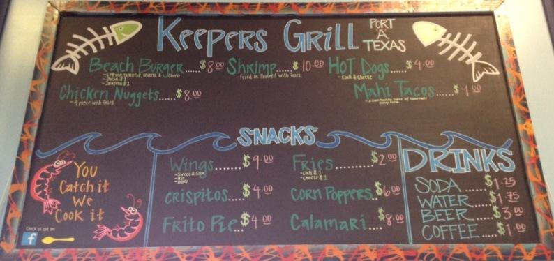 Keepers_menu